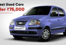 10 Best Used Cars under 75,000