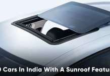 10 Cars In India with a Sunroof Feature