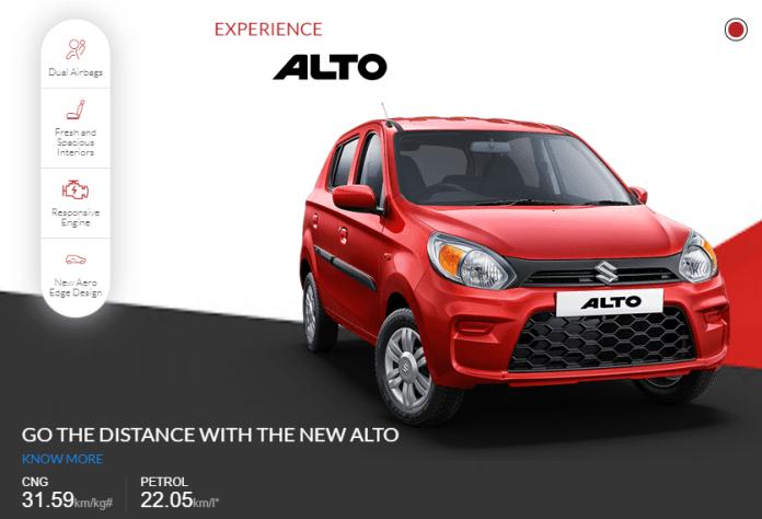 Alto's Fuel Mileage