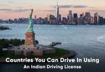 Countries you can drive in using an Indian Driving License