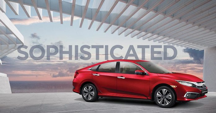 Honda Civic | Cars with Sunroof In India