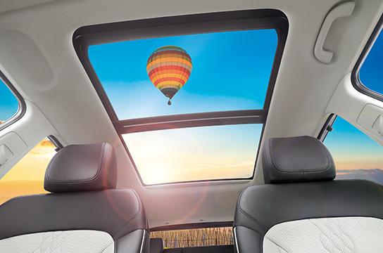 Hyundai Creta's Panoramic Sunroof