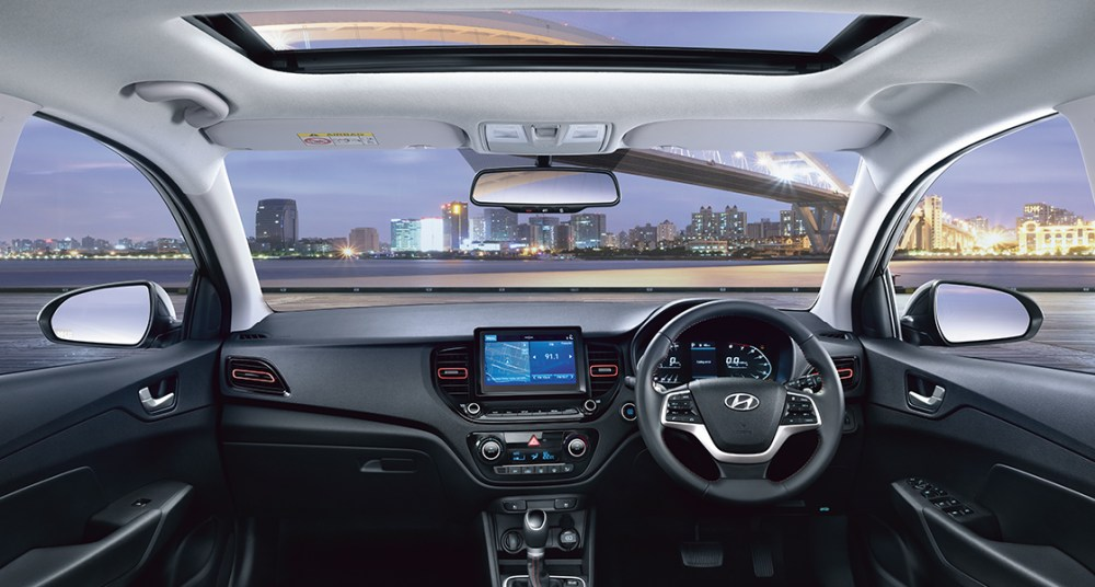 Hyundai Verna 2020's scenic view