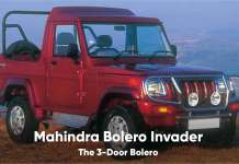 Mahindra Bolero The 3-Door Bolero