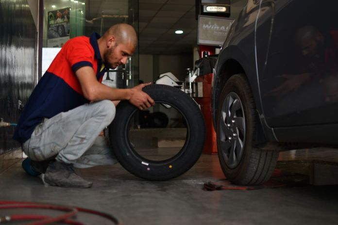 New Tyre Replacement at GoMechanic