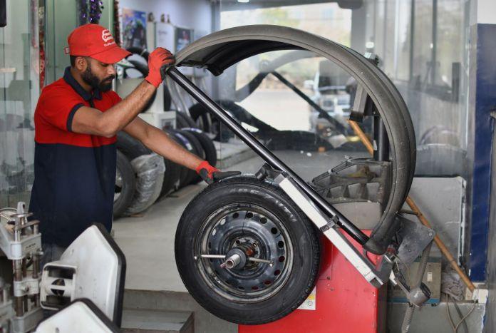 Steel Wheel Balancing