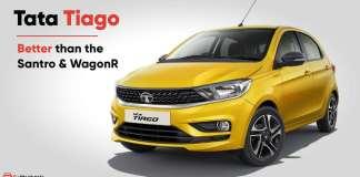 Tata Tiago vs Hyundai Santro vs Maruti WagonR