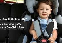 10 ways to make your car child safe