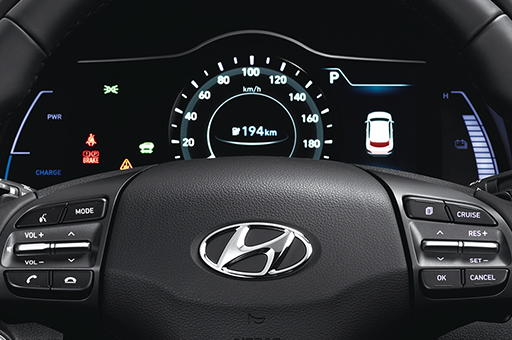2020 Hyundai Kona Electric Instrument Cluster