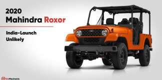 2020 Mahindra Roxor launch