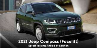 2021 jeep compass spied testing india