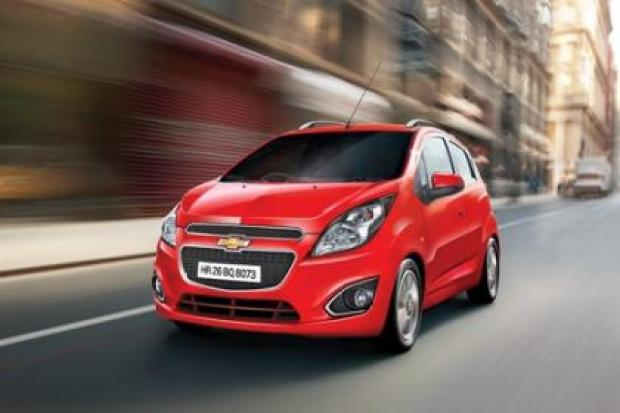 Chevrolet Beat 1.0 LT in Red