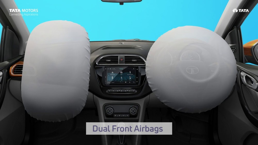 Dual-front Airbags   Safety features in cars