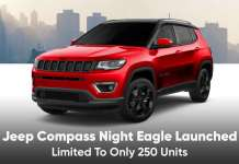 Jeep Compass Night Eagle Launched