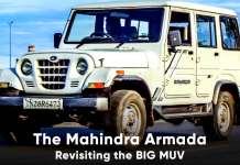 Mahindra Armada Revisiting the BIG MUV