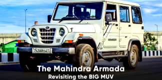 Mahindra Armada Revisiting the BIG MUV