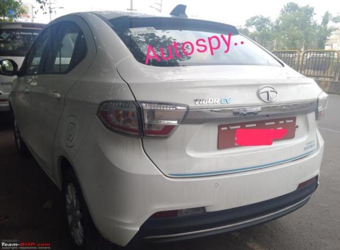 Tata Tigor EV back profile