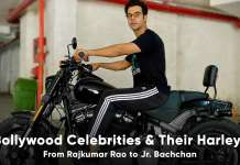 bollywood celebrities harley davidson