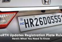 government updates registration plates rules