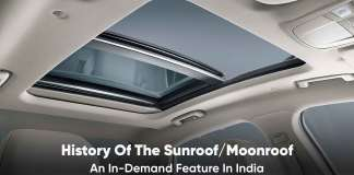 history of the sunroof and moonroof
