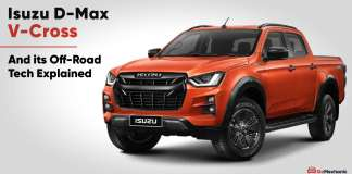 isuzu d max v cross explained