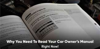 why to read car owners manual