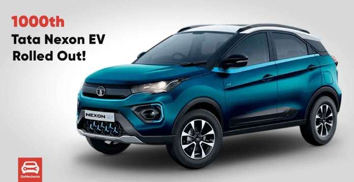 1000th Tata Nexon Rolled Out