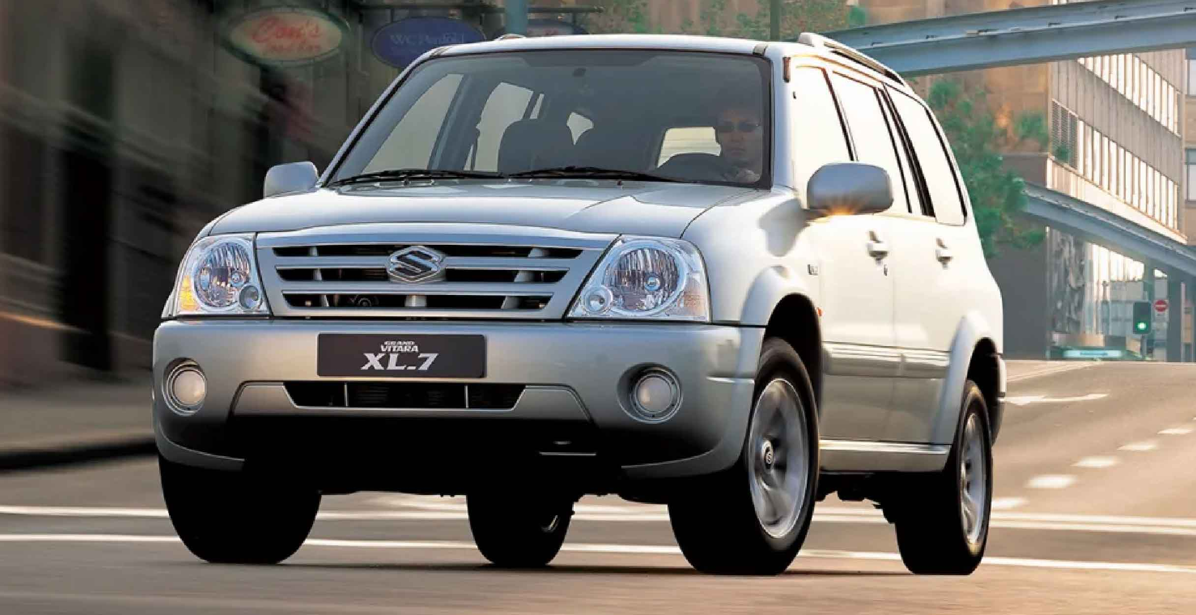 suzuki grand vitara xl 7 when maruti tried a v6 engine suzuki grand vitara xl 7 when maruti