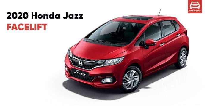 2020 Honda Jazz Facelift Launched