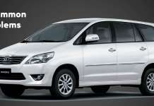 Common Problems on the Toyota Innova
