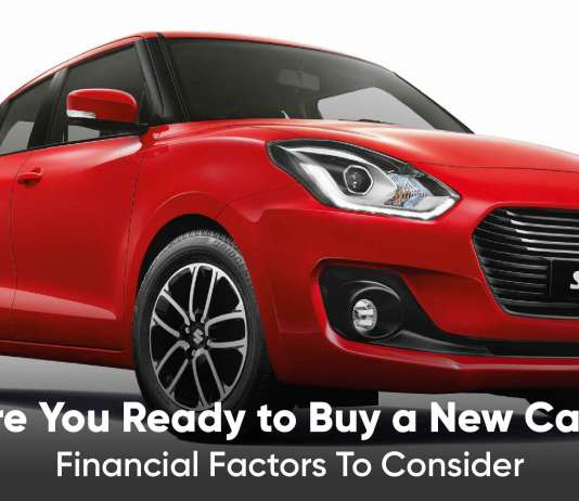 Financial Factors to consider while buying a new car