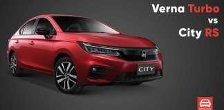 Honda City RS vs Hyundai Verna Turbo
