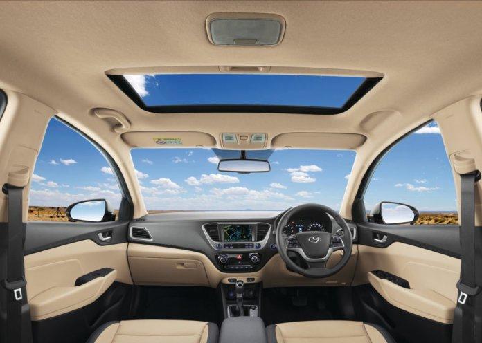 Hyundai Verna 2017 Interiors