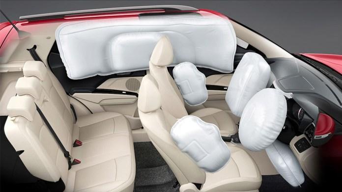 Mahindra XUV300 Airbags