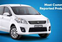 Most common problems on the Maruti Ertiga