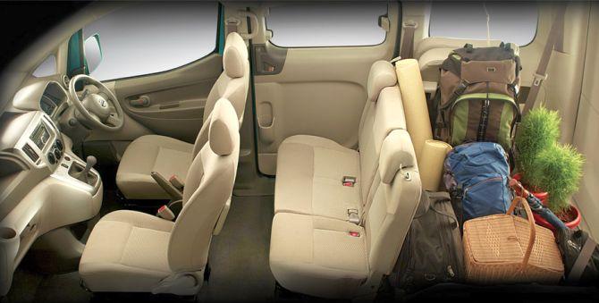 Nissan Evalia | Seating