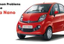 Common Problems On the Tata Nano