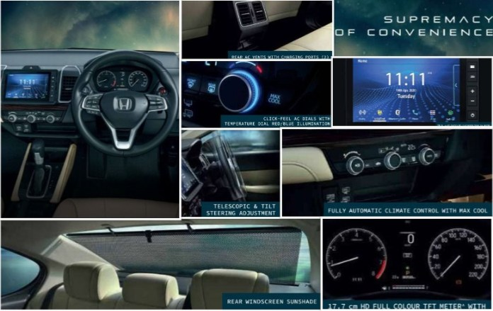 Honda City's Comfort Features