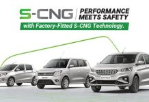 Maruti Suzuki S-CNG Car Line-up