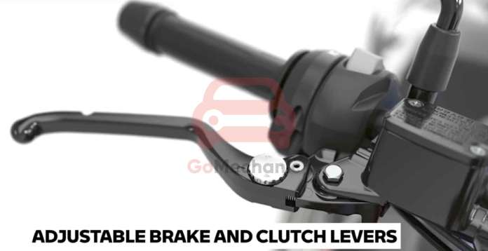 Adjustable Brake and Clutch Levers on the BMW G310