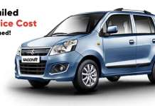 Maruti Suzuki WagonR And Detailed Its Service Cost Explained