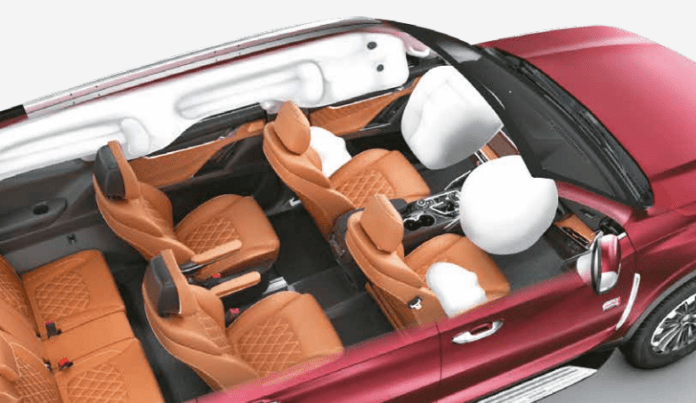 Airbag Layout