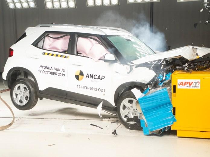 Hyundai Venue | Crash Test