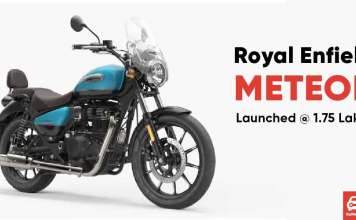 Royal Enfield Meteor Launched