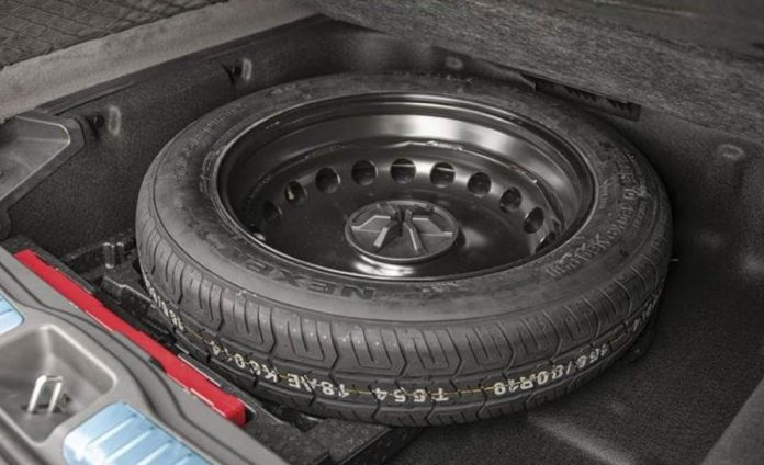 Spare Tyre weighs 10-15kgs