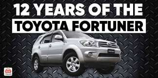 12 Years Of The Toyota Fortuner