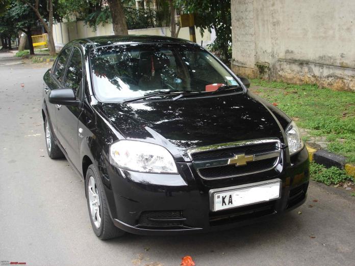 Chevrolet Aveo | Credits: Team BHP