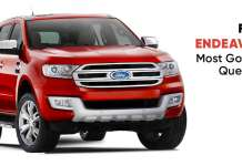 Most Googled Questions On The Ford Endeavour