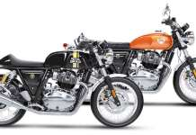 Royal Enfield Interceptor 650 and Continental 650
