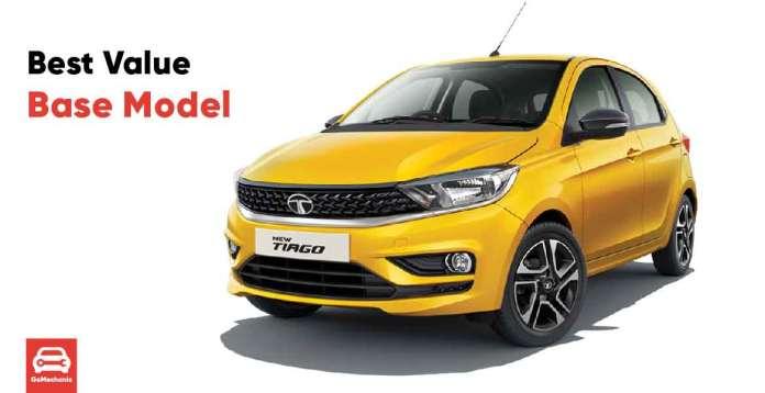 Tata Tiago - Best Value Base Model Cars